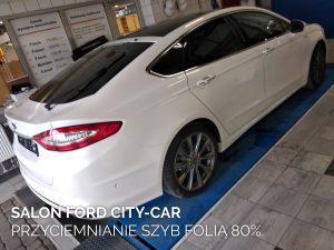Salon Ford City-Car przyciemnianie szyb folią 80%