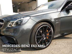 Mercedes-Benz e63 AMG stylizacja