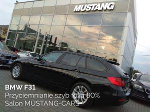 BMW F31 przyciemnianie szyb folią 80%