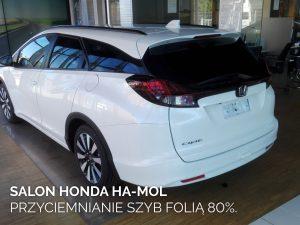 Salon Honda Ha-Mol przyciemnianie szyb 80%